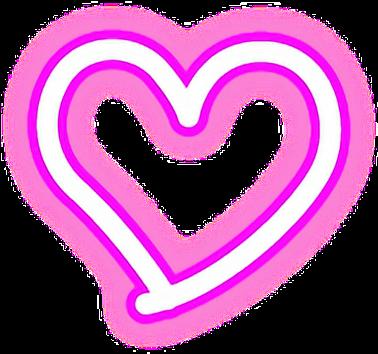 Heart Hearts Neon Lights Love Edits Love Edits 1024x1024 Png Download Wallpaper Iphone Neon Neon Png Neon Lighting