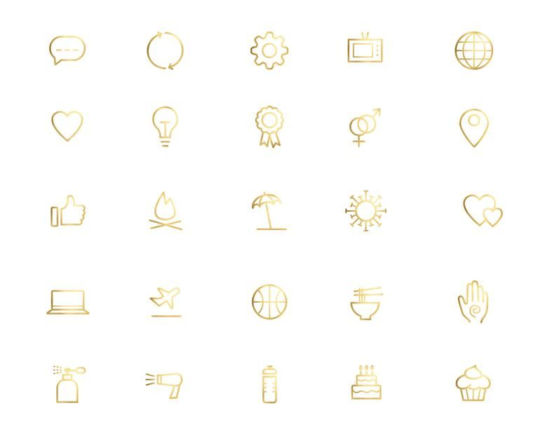 800 Gold Icons Gold Foil Icons Website Icons Blog Etsy In 2021 Website Icons Icon Location Icon