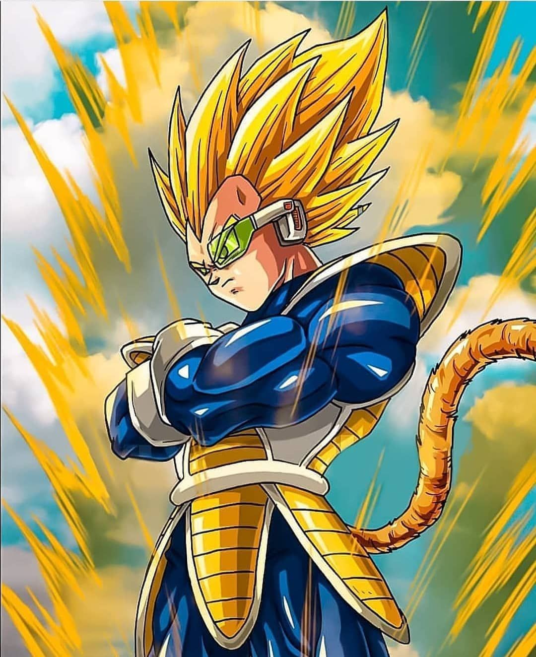 Going Super Saiyan In My Old Look Credits To The Artist