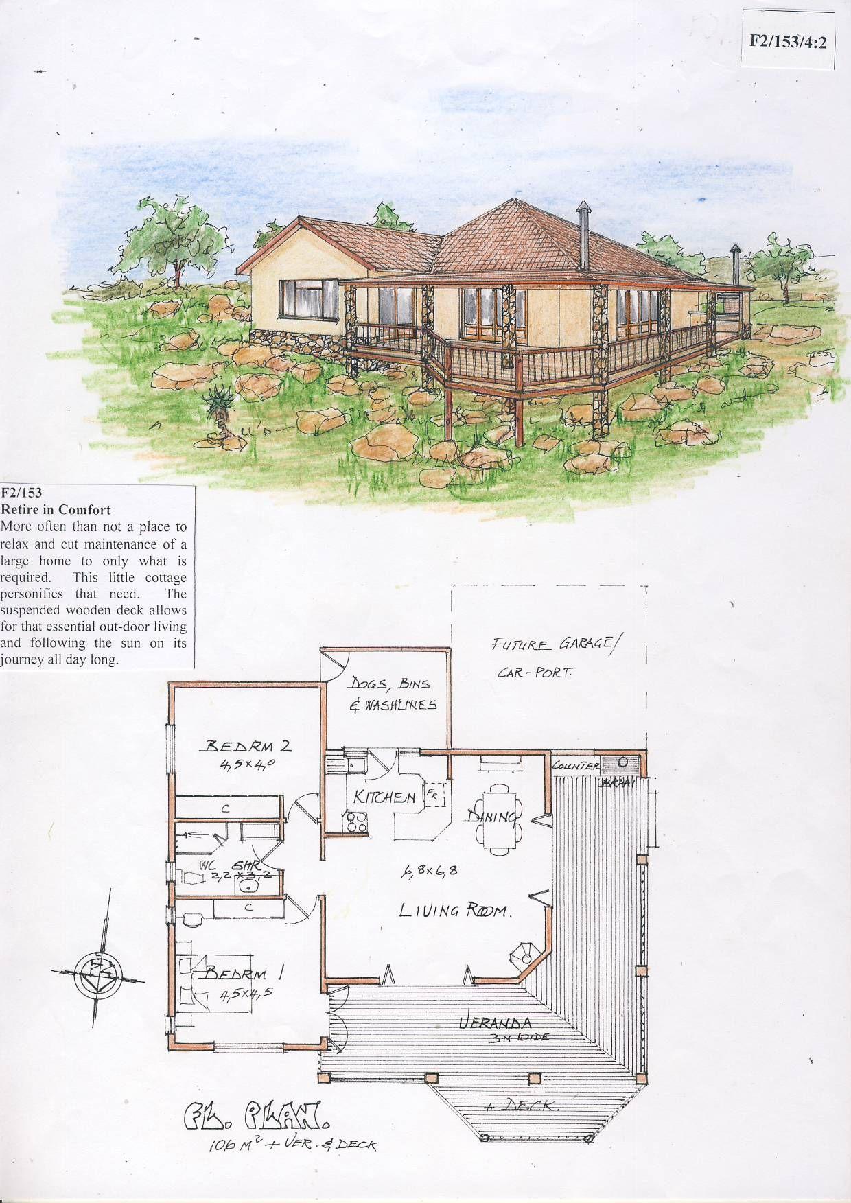 f2 153 retire in comfort hillbilly homes house plans pinterest