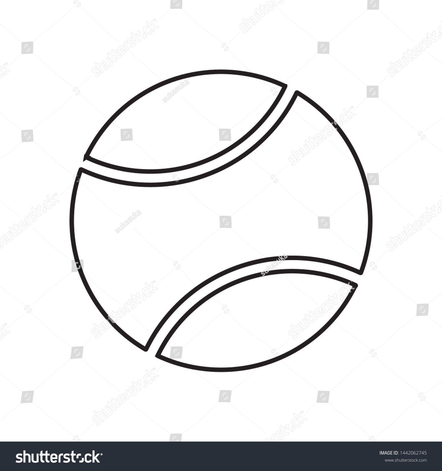 Tennis Ball Icon Sport Cyombol Vector Ad Spon Icon Ball Tennis Vector Portrait Photography Tutorial Vector Photography Tutorials