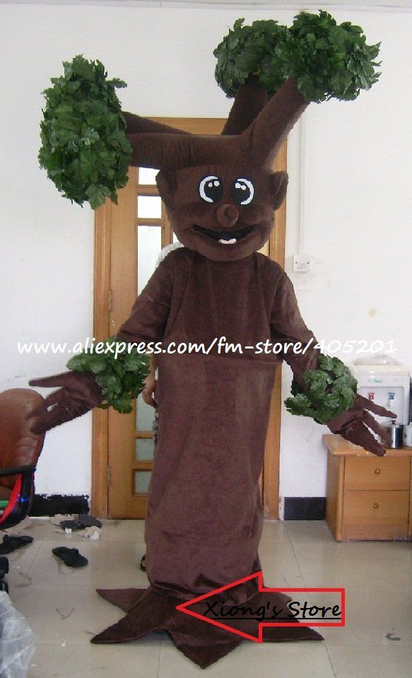 brown tree mascot costume-in Costumes from Apparel & Accessories on Aliexpress.com