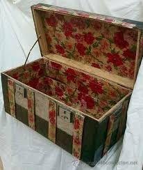 Resultado De Imagen Para Baules Antiguos Trunks And Old Suitcases - Baules-antiguos