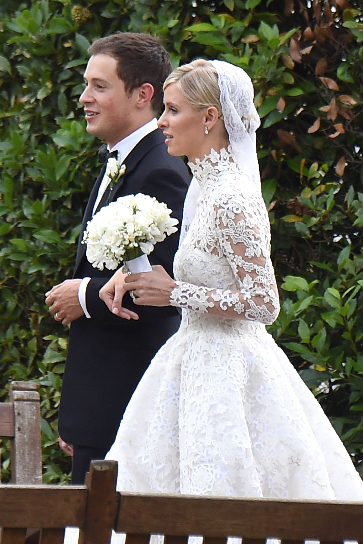 Famous wedding dresses  Inside Nicky Hiltonus London Wedding Weekend  Wedding weekend