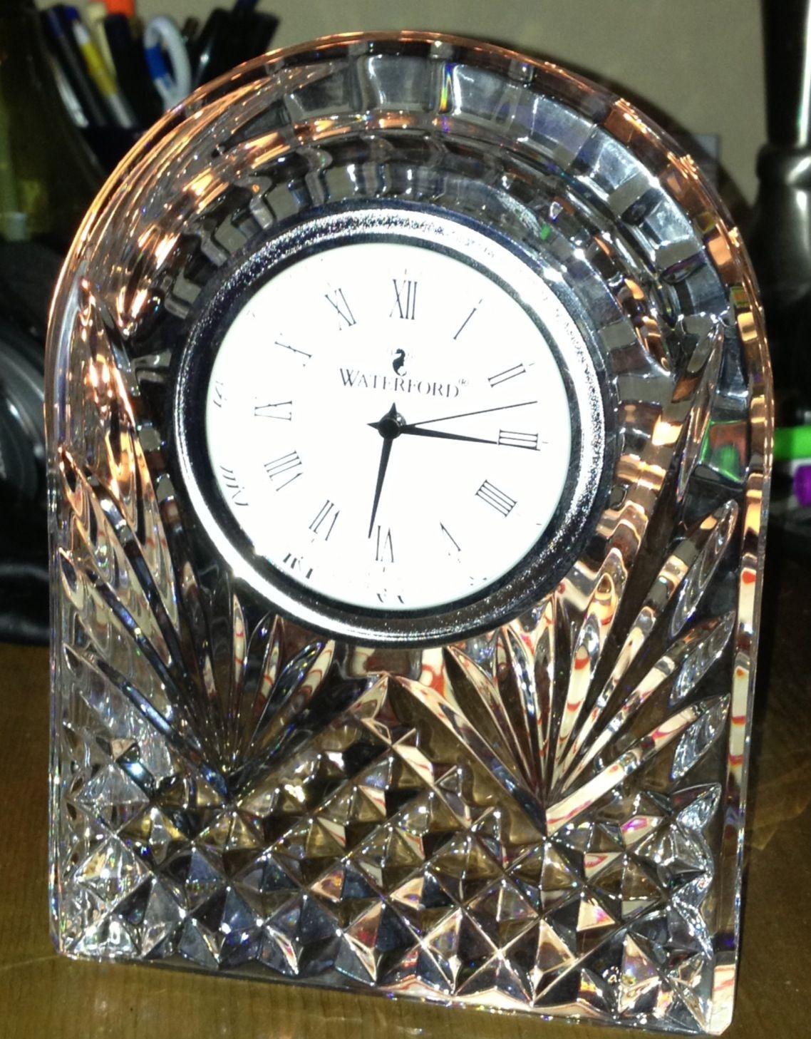 Waterford Crystal Clocks Clock