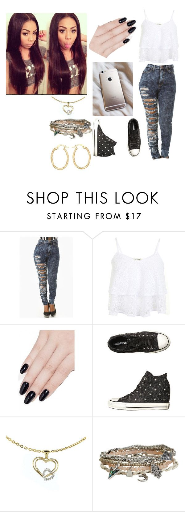 """Untitled #1115"" by girlie-kendrick ❤ liked on Polyvore featuring Miss Selfridge, ncLA, Converse, Aéropostale, Lord & Taylor, women's clothing, women's fashion, women, female and woman"