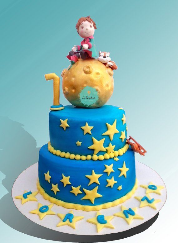 The little Prince cake topper. Prince cake decoration ...