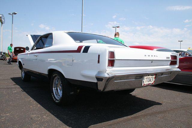 "1967 AMC Rambler Rebel w/ ""Machine"" paint scheme"