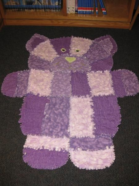 Animal Baby Quilts Teddy Bear Quilt Pattern Baby Rag