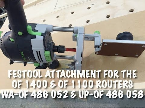 Attachment For The Of 1400 Of 1010 Routers From Festool Festool Festool Router Festool Tools
