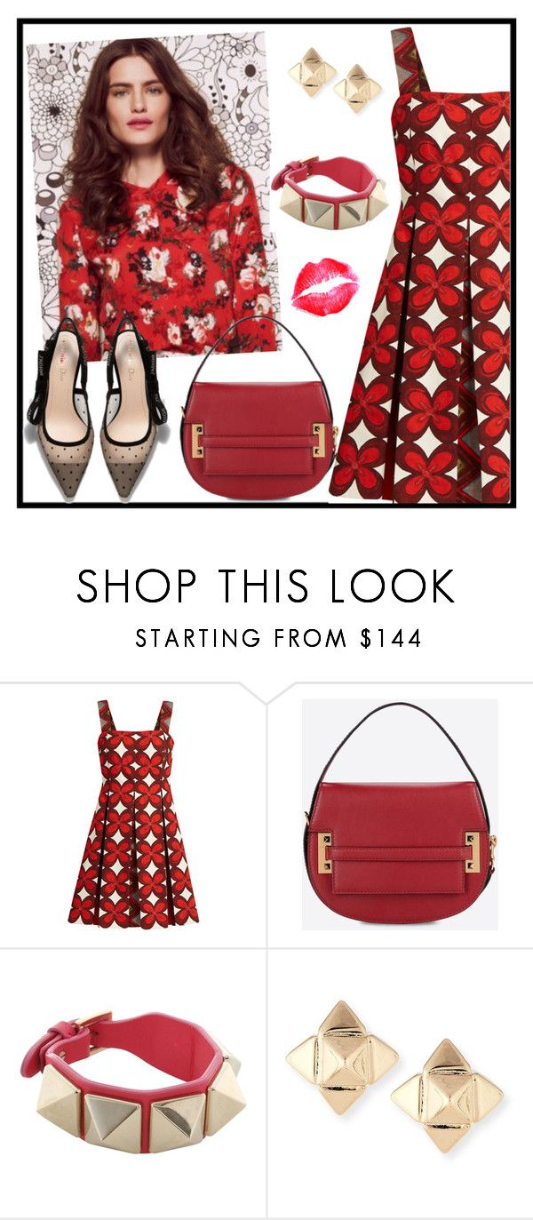 """ALL THE FLOWERS OF VALENTINO"" by tlb0318 on Polyvore featuring Valentino"