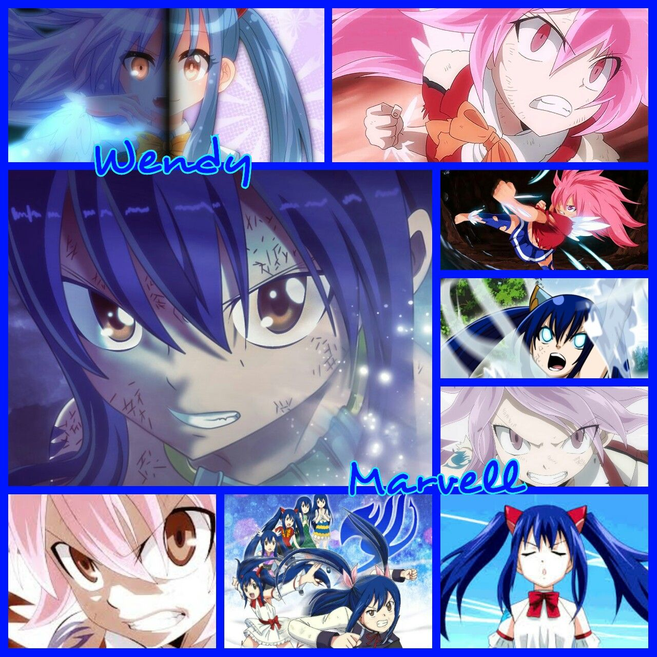 The Incredible And Silently Powerful Sky Dragon Slayer Wendy Marvell Enjoy Wallpaper Grid