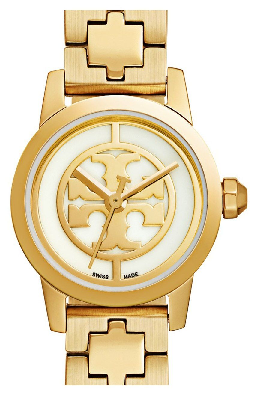 5819444168d5 Crushing on this classic Tory Burch watch in gold for an essential ...