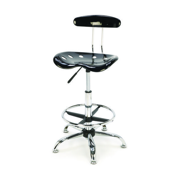 Superbe View A Larger Image Of Tractor Seat Style Shop Stool With Adjustable Height