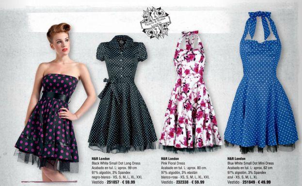 Rockabilly Pinup Style Dresses Vestidos Faldas Empspain