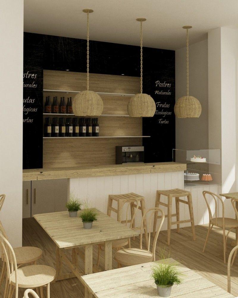 Modelo en 3d para proyecto de cafeter a en soho m laga por - Diseno de interiores malaga ...