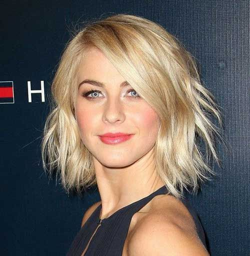 Julianne Hough Choppy Bob | hair | Pinterest | Julianne hough, Bobs ...