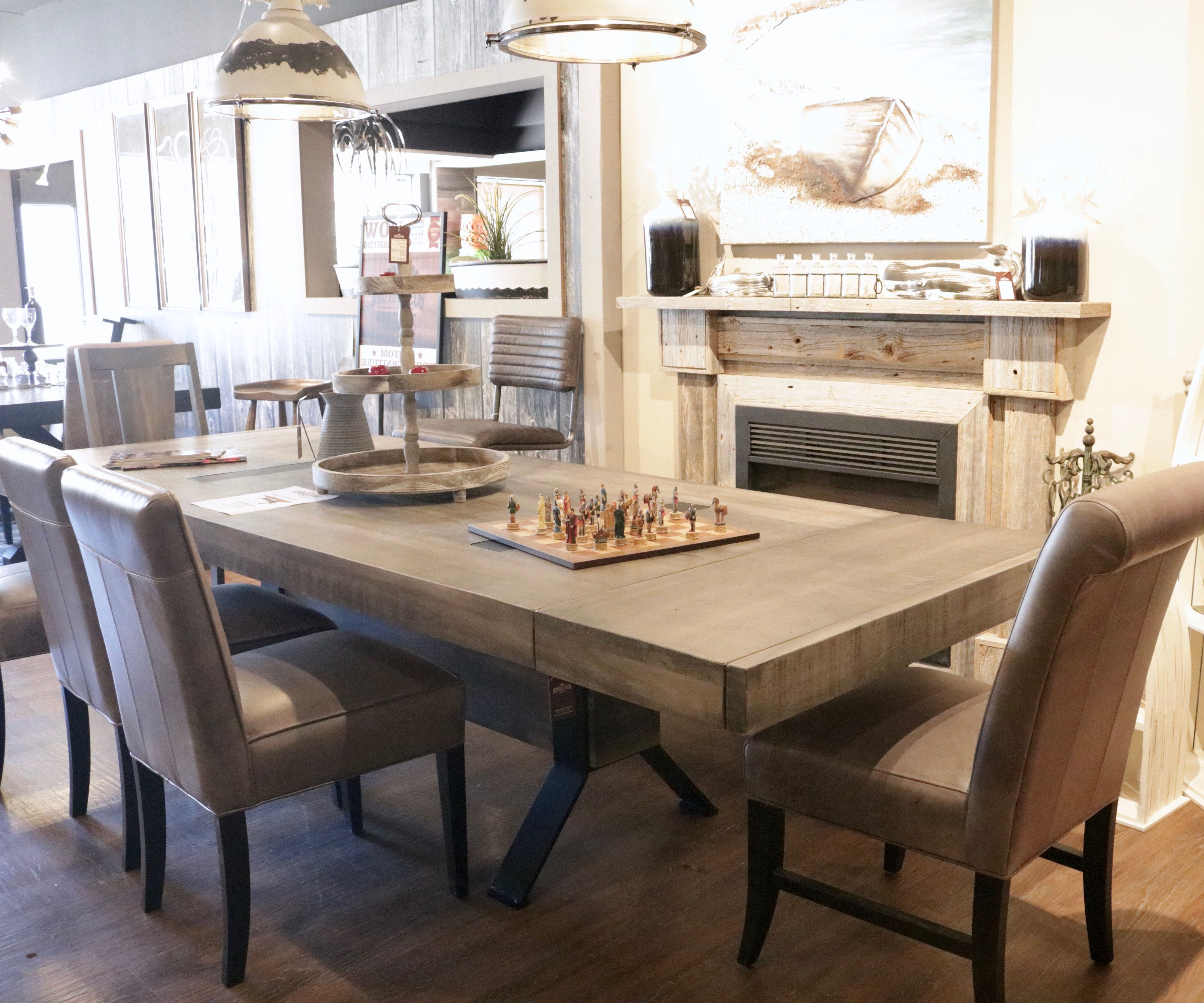 Introducing One Of Our Boss Vintage Custom Wood Dining Table