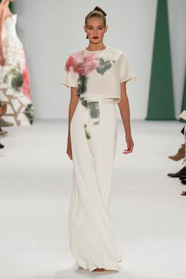 Hermosa colección de Carolina herrera #NYFW 2014