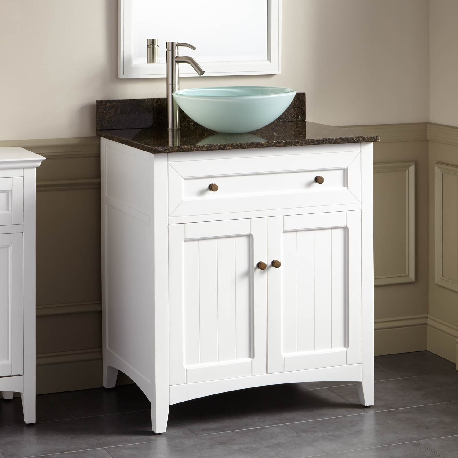 with fresca bathroom vessel white modern and torino option cabinet inch faucet linen sink side vanity