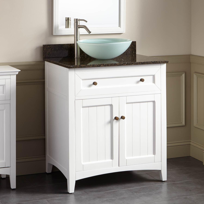 30 Halifax Vessel Sink Vanity White Vanity Sink Vessel Sink