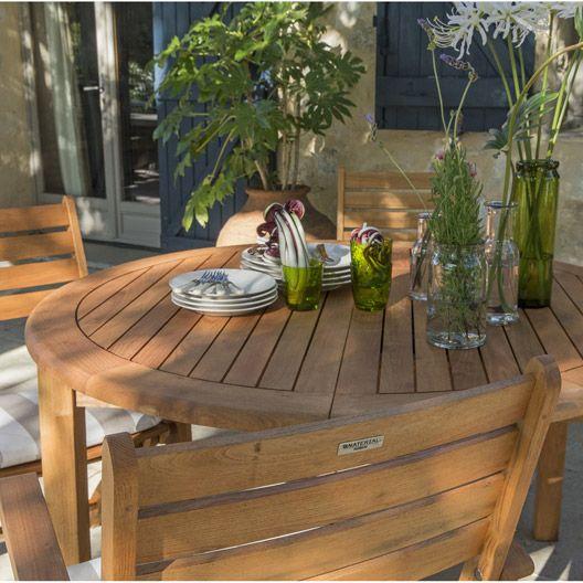 Table de jardin ronde Robin, NATERIAL | Mobilier de jardin | Table ...