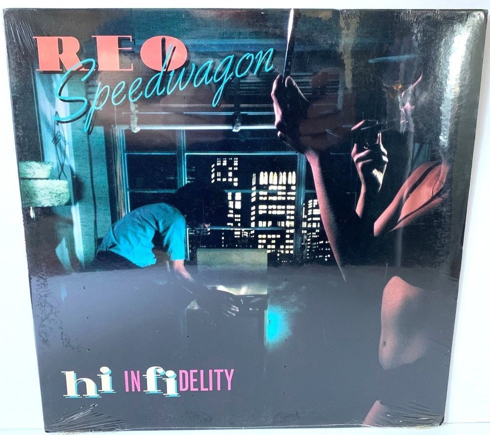 REO Speedwagon Hi Infidelity Epic FE 36844 Original SEALED LP Vinyl