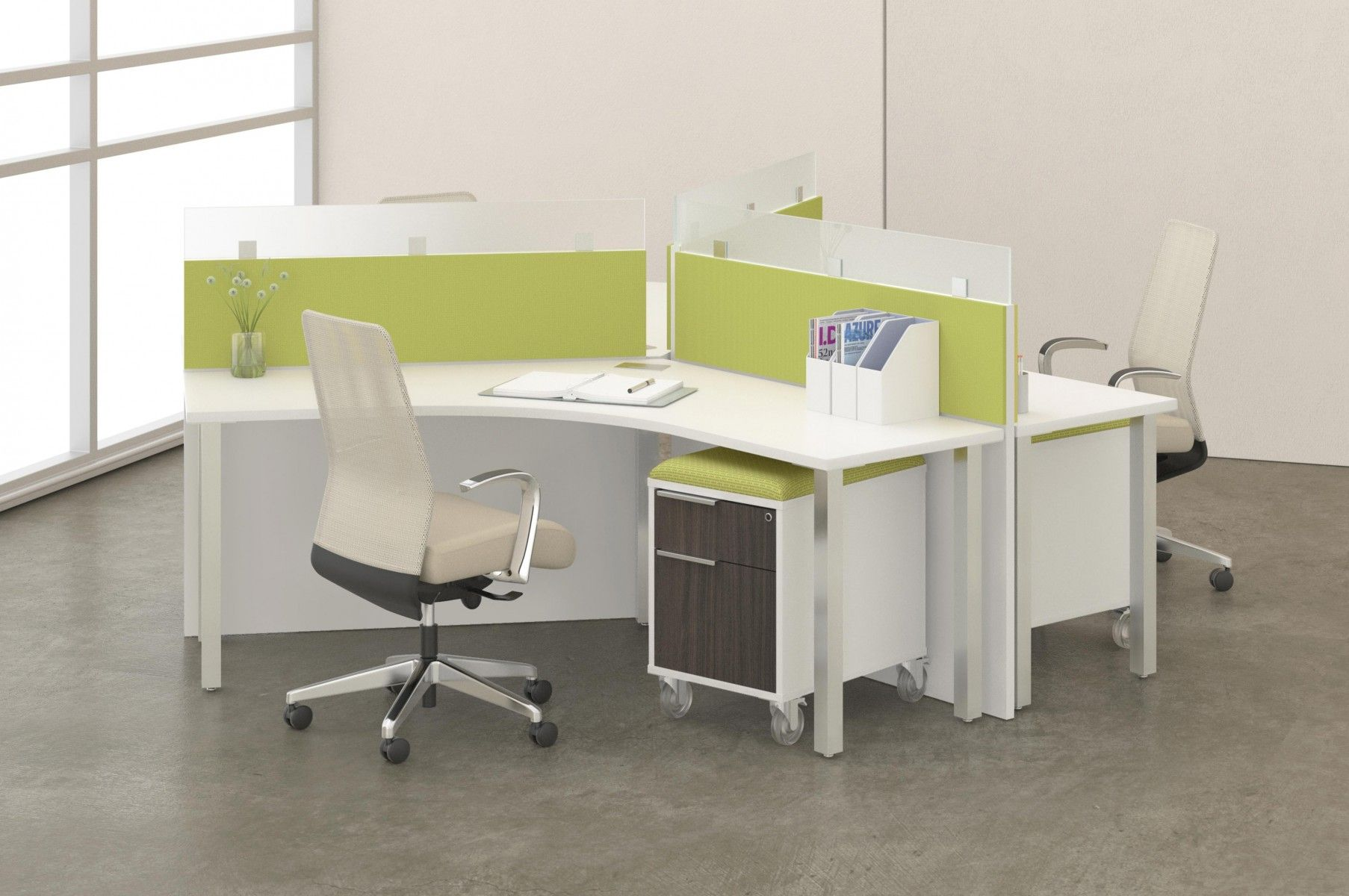Www Alandesk Com Teamworx By Deskmakers Office Furniture Modern