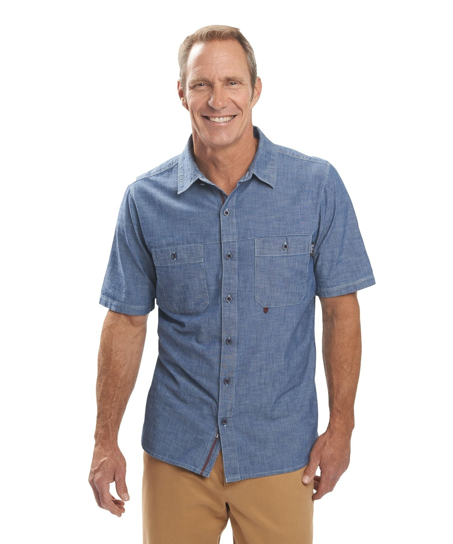 Men's Route 99 Short Sleeve Shirt by WOOLRICH® The Original Outdoor Clothing Company