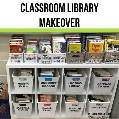 Classroom Library Makeover