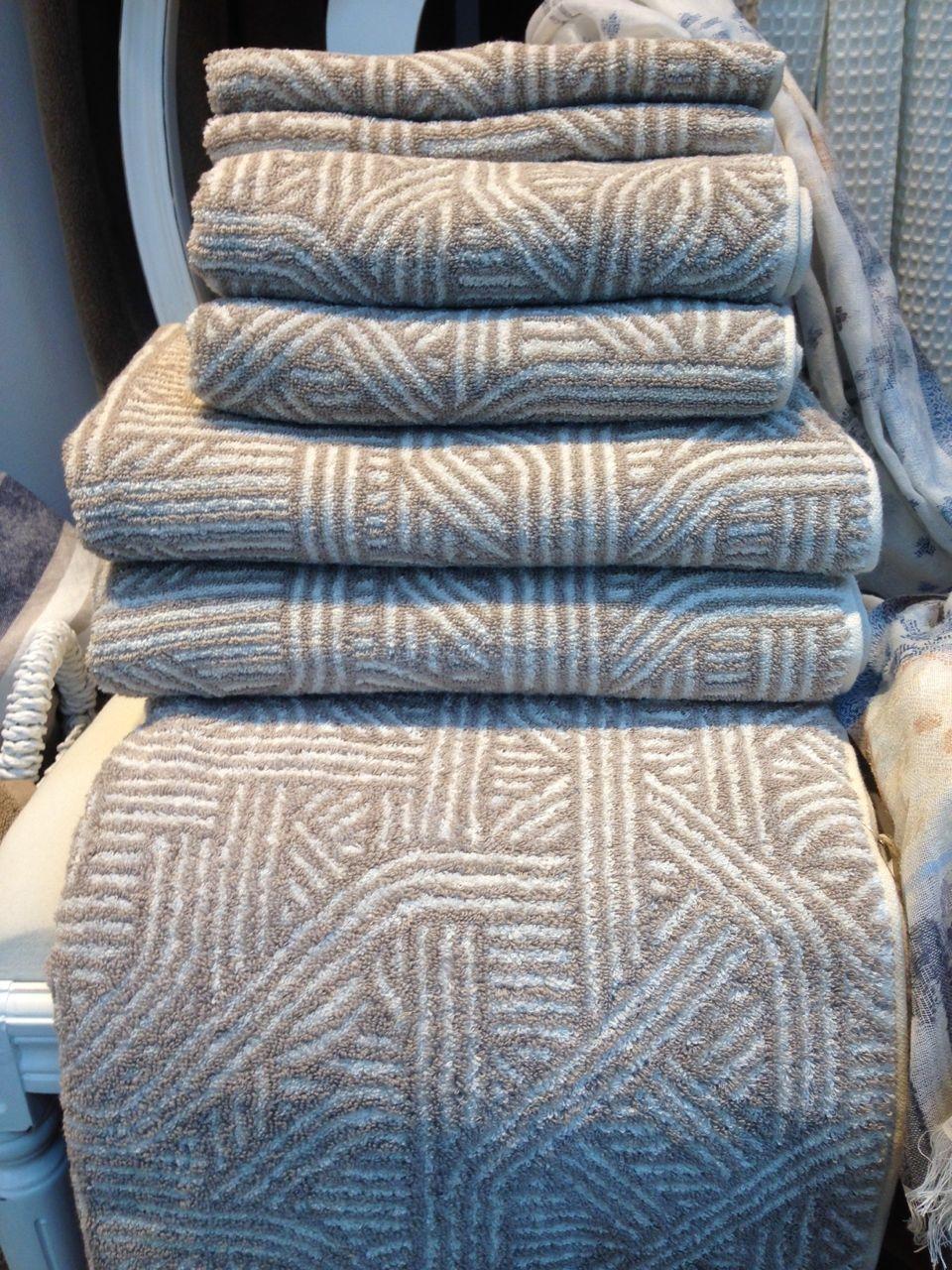 Handtuch Sofil Graphic 50x100 Stone Danisches Bettenlager 9