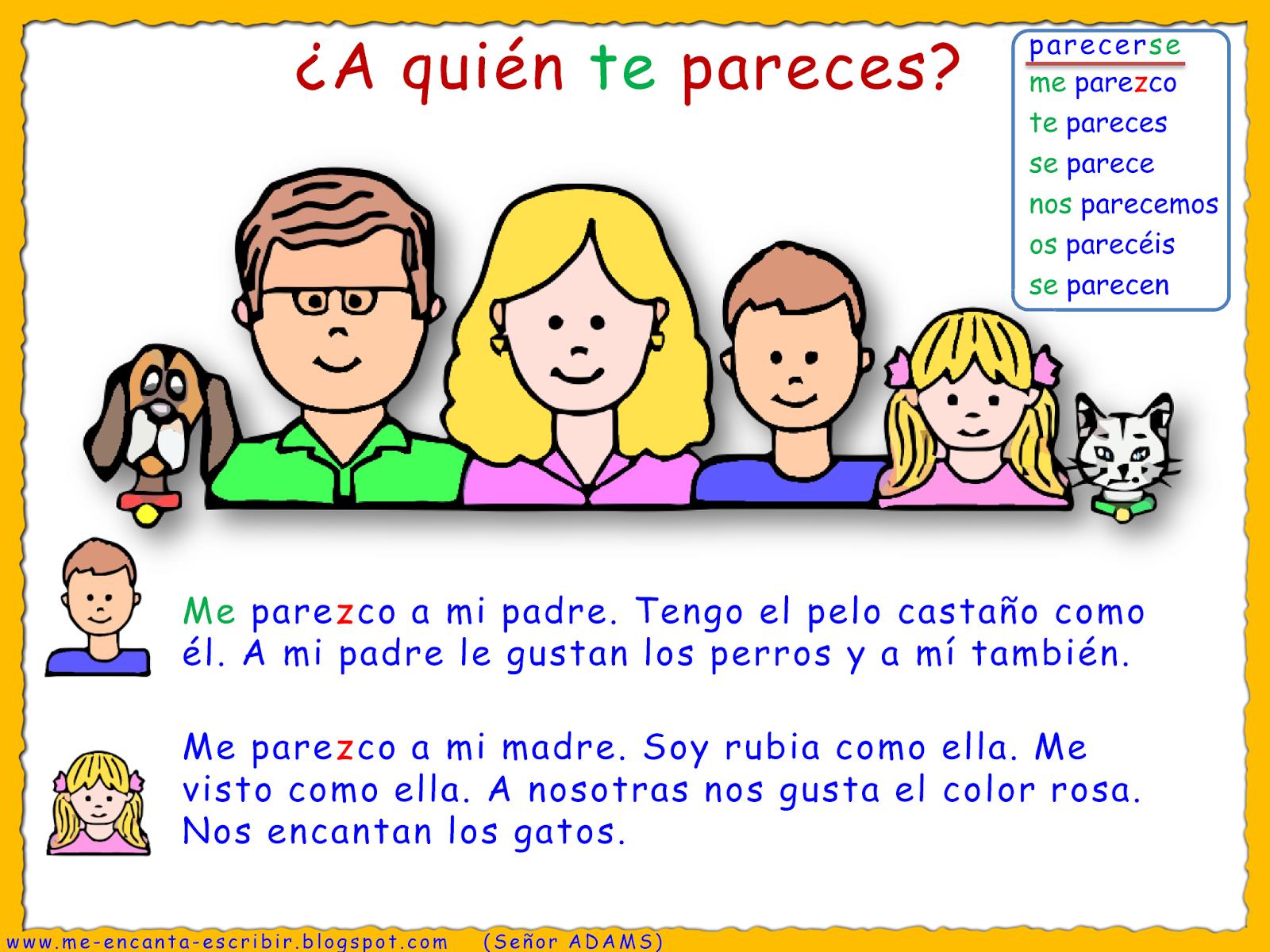 Me Encanta Escribir En Espanol A Quien Te Pareces