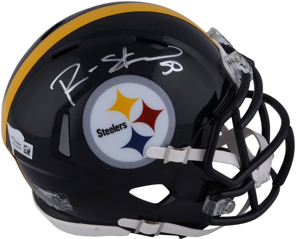 Fanatics Authentic Certified Ryan Shazier Pittsburgh Steelers Autographed Riddell Speed Mini Helmet