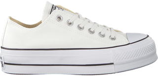 Witte Converse Sneakers Chuck Taylor All Star Lift | Chuck ...