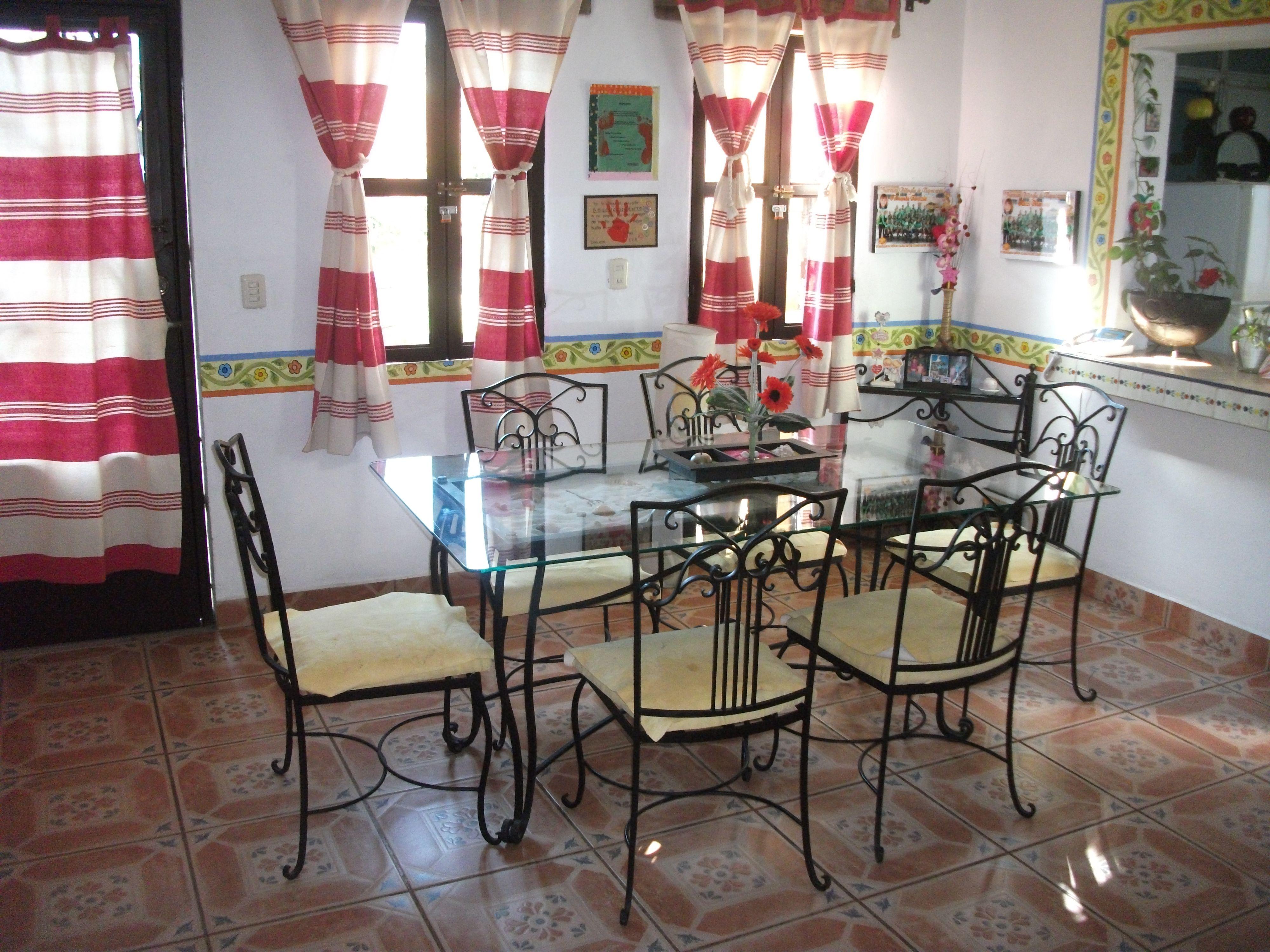 Comedor de hierro forjado decoracion pinterest for Comedor hierro forjado