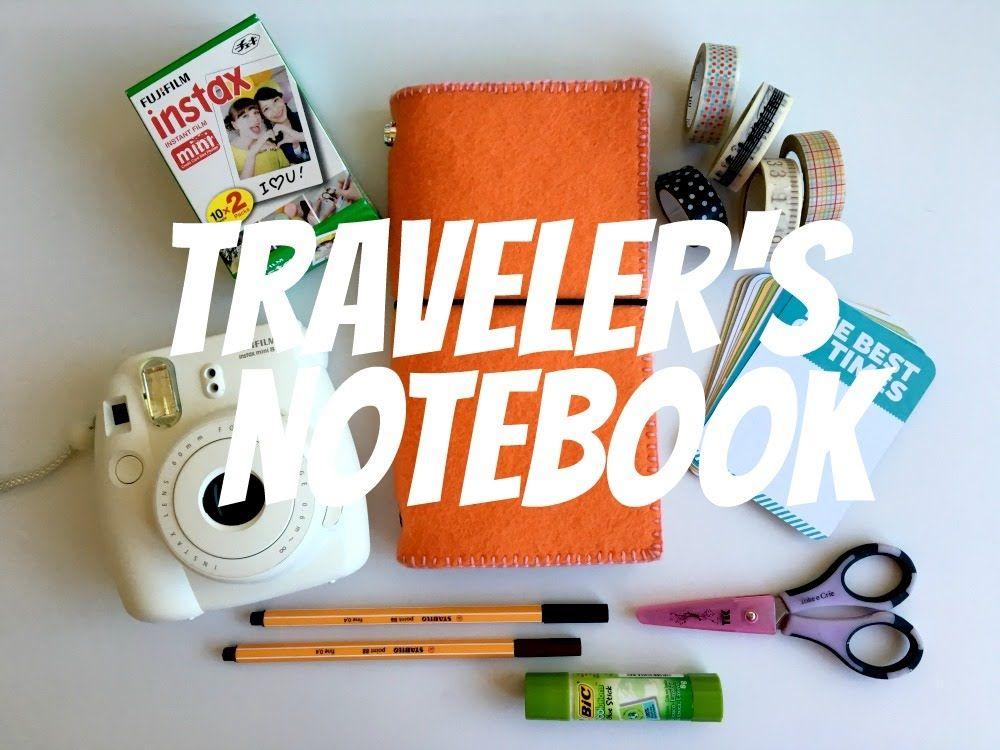 Como fazer capa para traveler's notebook