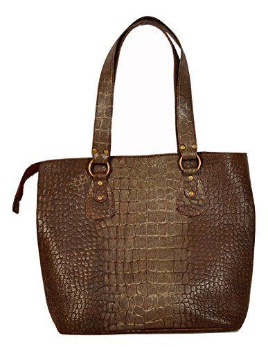 SALE PRICE -  249.99 - Crocodile Style 100% Pure Leather Ladies Handbag  f3ac08fba034d