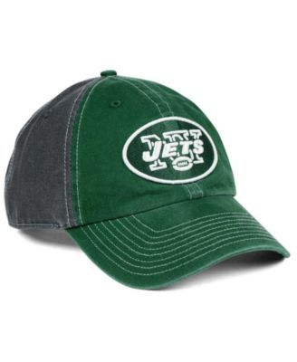 new products 62da3 ce5d4  47 Brand New York Jets Transistor Clean Up Cap - Gray Adjustable