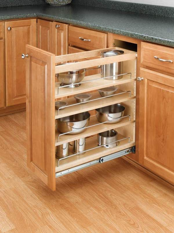 Rev A Shelf 448 Bc 5c In 2020 Kitchen Base Cabinets Adjustable