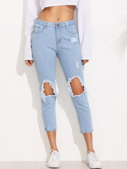 Urban Classics Ladies High Waist Slim Jeans Pantaloni Donna