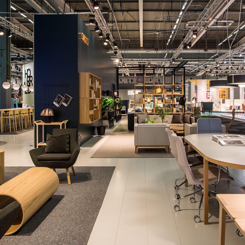 Swedese At Stockholm Furniture Fair 2016 Showroom Interior Design Showroom Design Store Design