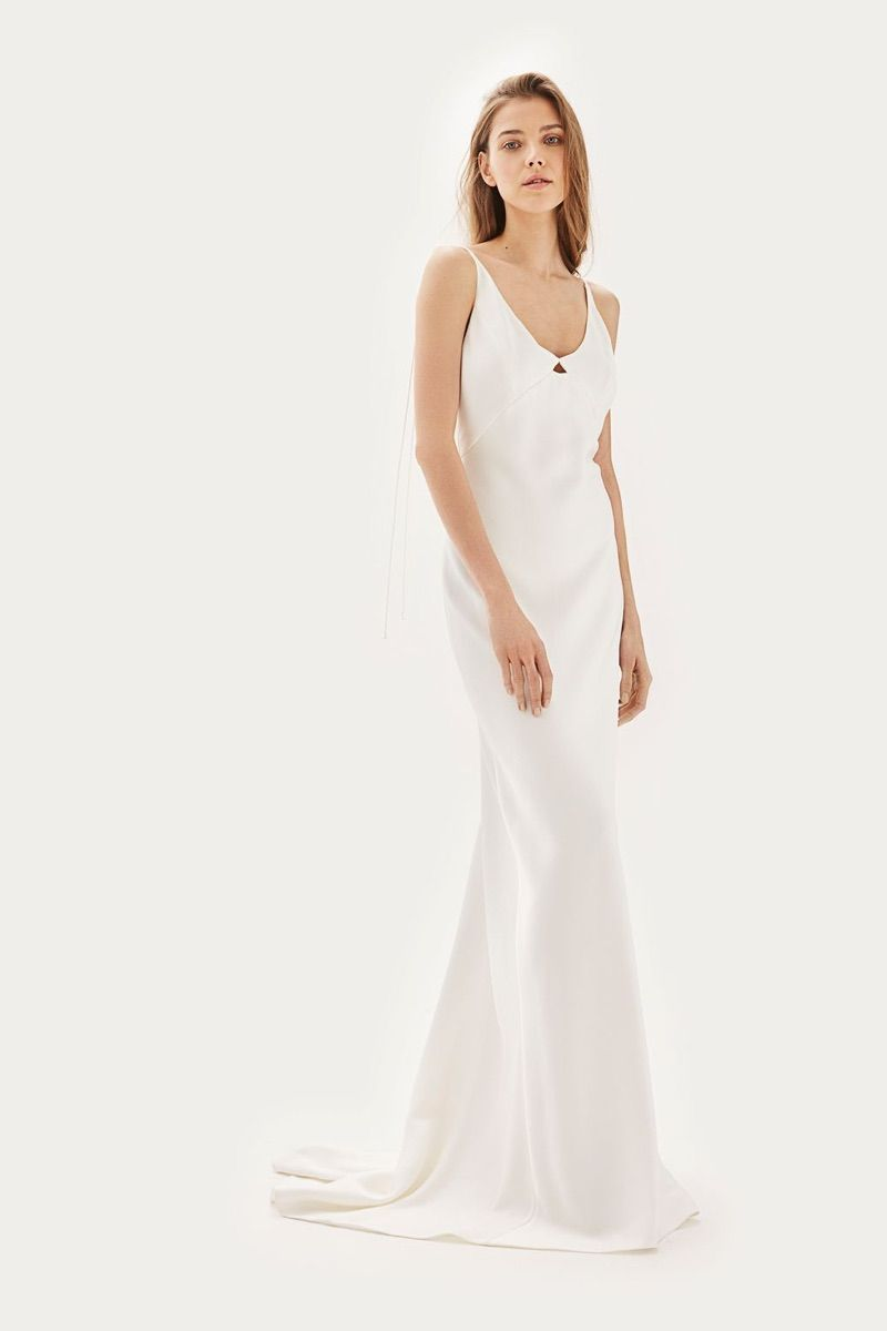 TOPSHOP Bride Wedding Dresses 2017 Shop | Topshop, Shoulder dress ...