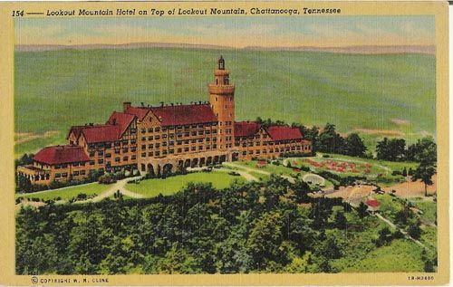 Lookout Mountain Hotel Post Card