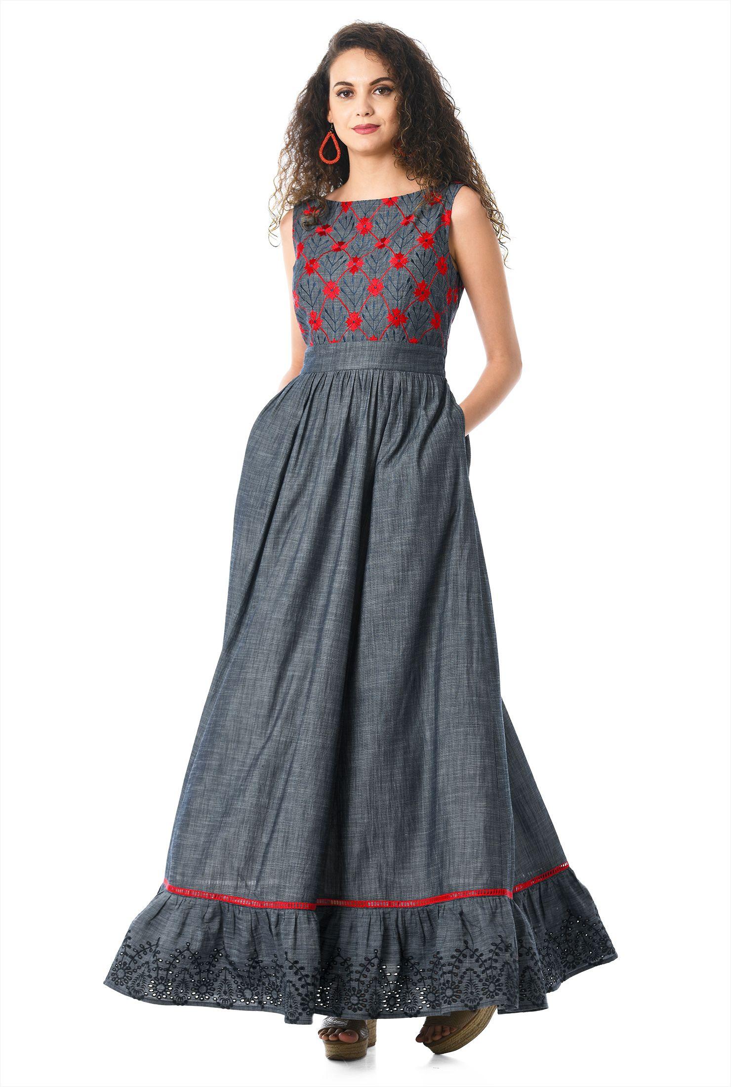 28fca95fd8d The perfect Empire Waist Dresses are at eShakti