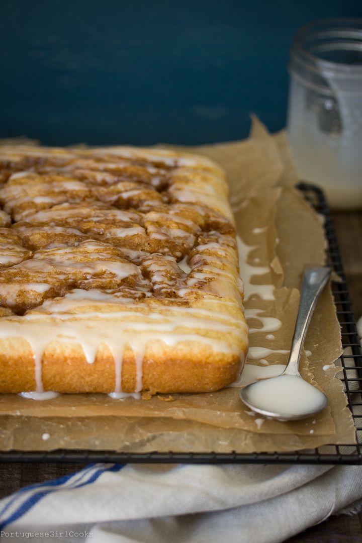 Scratch Cinnamon Roll Cake