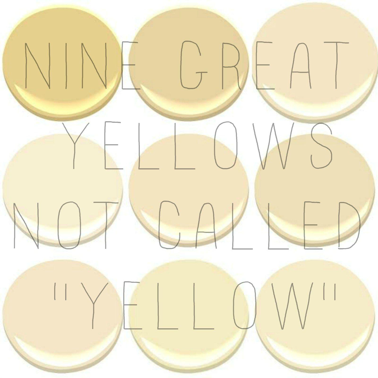 The best interior yellows pinterest benjamin moore yellow