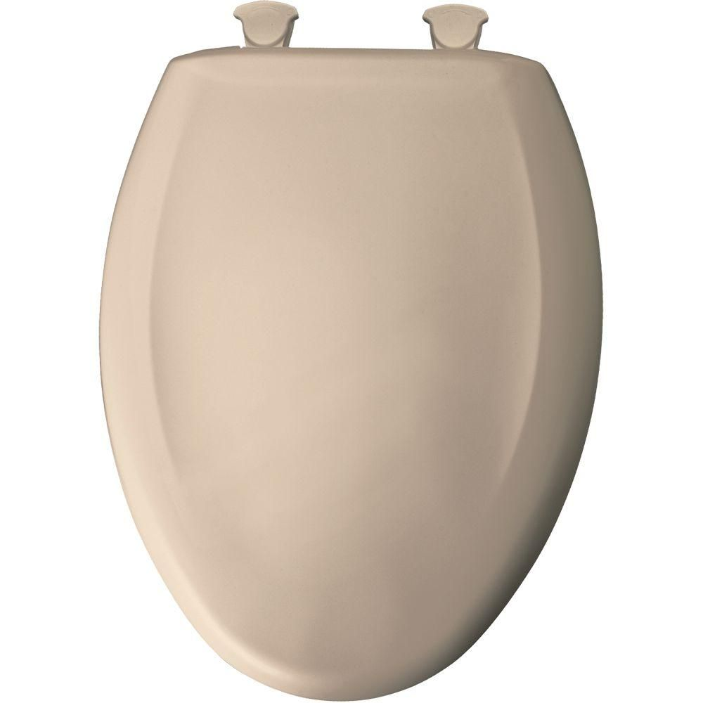 Enjoyable Bemis Slow Close Sta Tite Elongated Closed Front Toilet Seat Machost Co Dining Chair Design Ideas Machostcouk