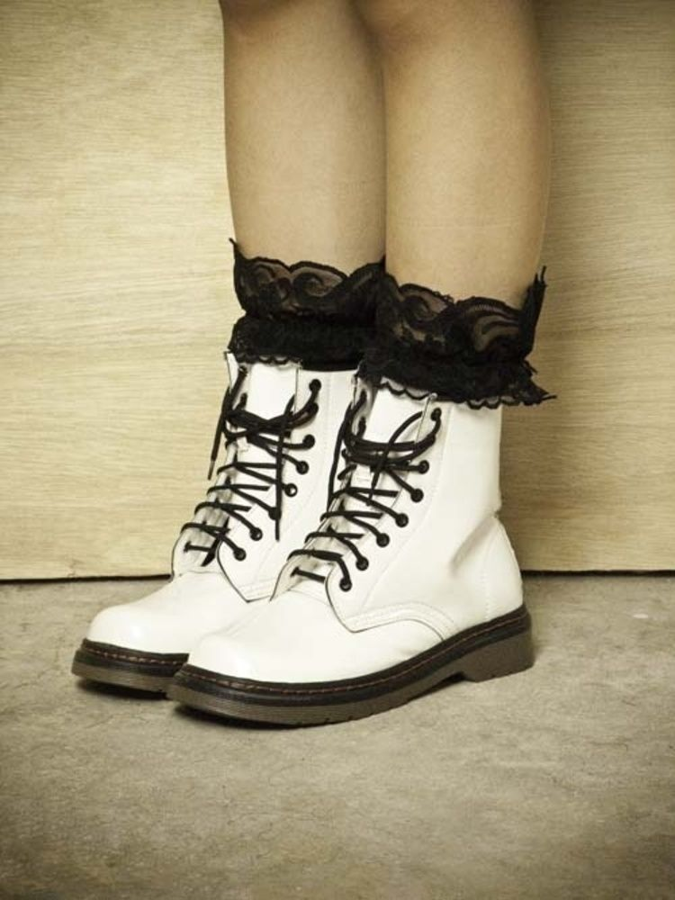 Be a cute way to wear my white docs