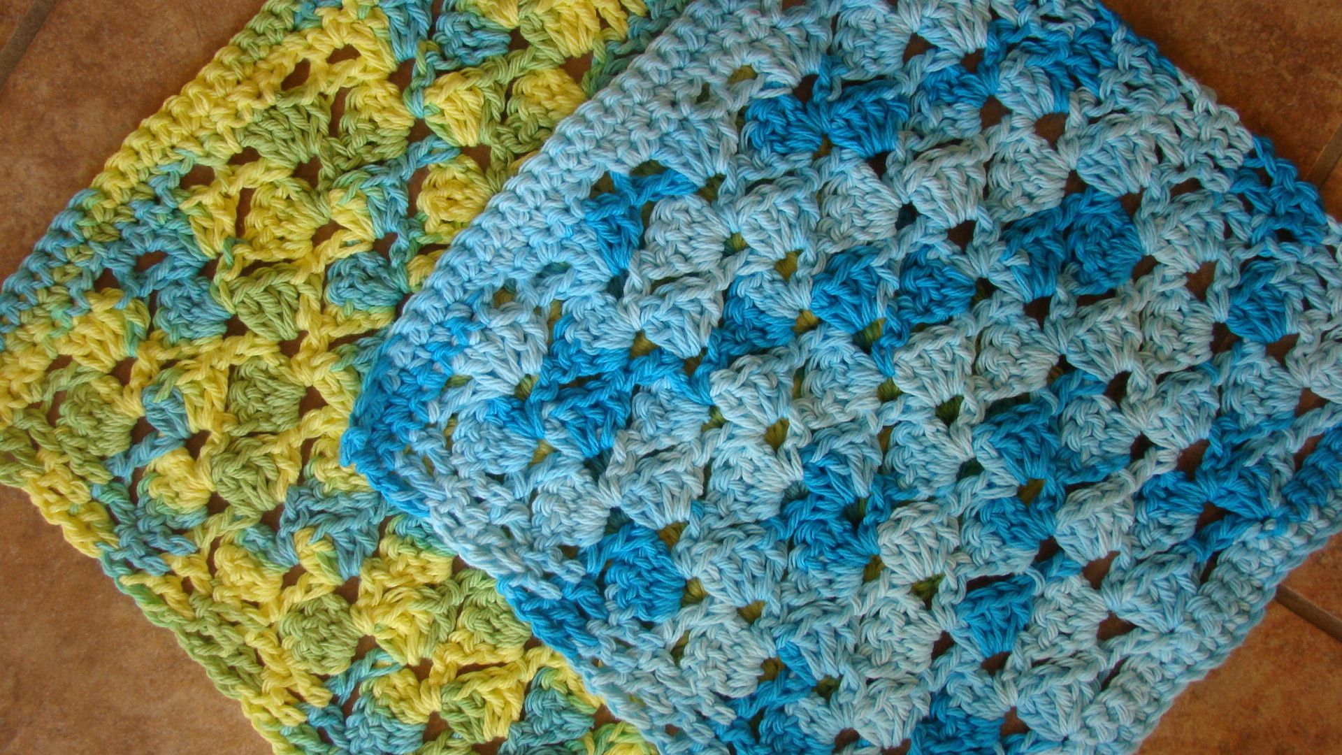 Shell Dishcloth | Crochet & Knit Dishcloths, Facecloths, Scrubbies ...