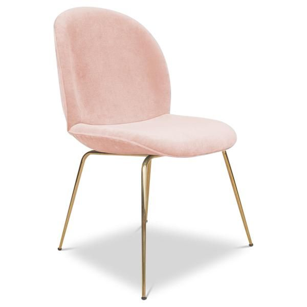 Amalfi Dining Chair In Velvet Upholstered Dining Chairs Dining